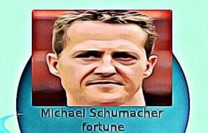 Michael Schumacher fortune