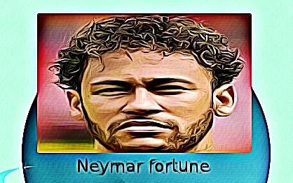 Neymar fortune
