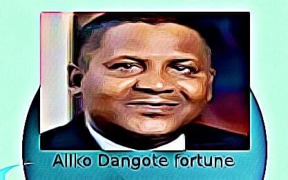 Aliko Dangote fortune