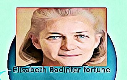 Elisabeth Badinter fortune