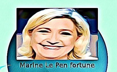 Marine Le Pen fortune