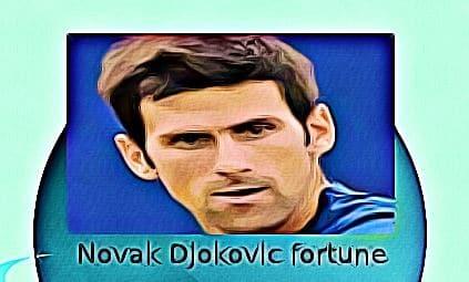 Novak Djokovic fortune
