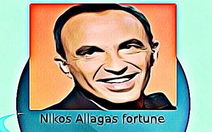 Nikos Aliagas fortune