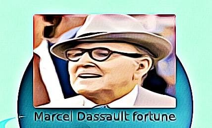 Marcel Dassault fortune