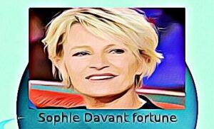Sophie Davant fortune