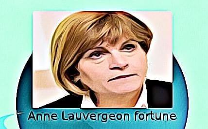 Anne Lauvergeon fortune