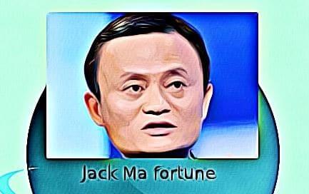 Jack Ma fortune