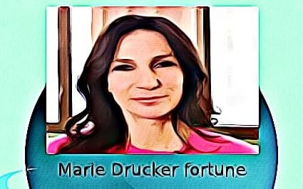 Marie Drucker fortune