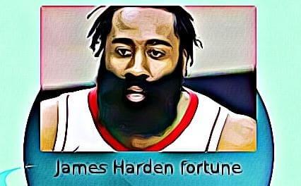James Harden fortune
